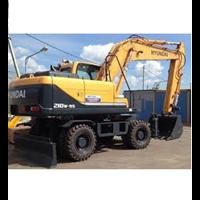 Jual Wheel Excavator