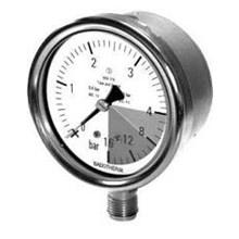 BDT20-P-Solid Front Pressure Gauge