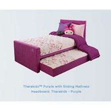 Spring Bed Therapedic Therakids Purple
