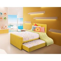 Spring Bed Therapedic Therakids Lime Green