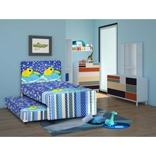 Spring Bed Airland 2in1 Kids