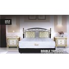 Sale Spring Bed Bella Gold Series Double Top Gold