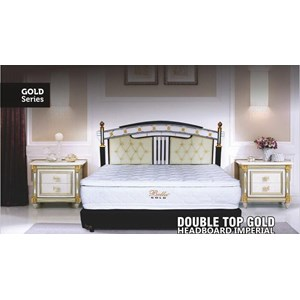 Spring Bed Bella Gold Series Double Top Gold
