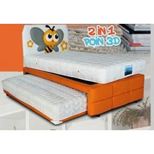 Spring Bed Bella Poin Series 2 in 1 Poin 3D