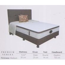 Spring Bed Tudor Premium Series York