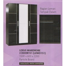 Lemari Pakaian Vittorio Lexus LXWD150
