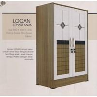 Lemari Pakaian Anak Vittorio Linea Series Logan 1