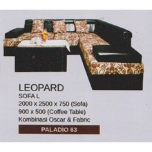 Sofa Vittorio Leopard