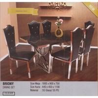 Meja Makan Vittorio Briony Set  1