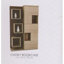 Rak Buku Vittorio Choky