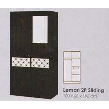 Lemari Pakaian Melody Coltello Series 2P Sliding Door