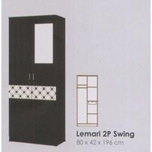 Lemari Pakaian Melody Coltello Series 2P Swing