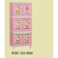 Lemari Plastik Napolly BCBC-163 HKBF 1