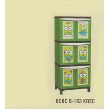 Lemari Plastik Napolly BCBC-163 KREC