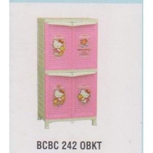Lemari Plastik Napolly BCBC 242 OBKT