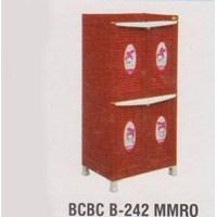 Lemari Plastik Napolly BCBC B-242 MMRO 1