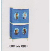 Lemari Plastik Napolly BCBC 242 OBFR 1