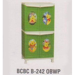 Lemari Plastik Napolly BCBC B-242 OBWP