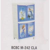 Lemari Plastik Napolly BCBC M-242 CLA 1
