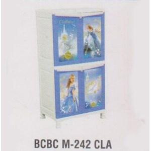 Lemari Plastik Napolly BCBC M-242 CLA