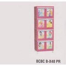 Lemari Plastik Napolly BCBC B-X48 PR
