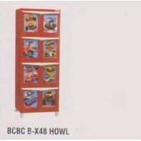 Lemari Plastik Napolly BCBC B-X48 HOWL 1