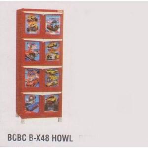 Lemari Plastik Napolly BCBC B-X48 HOWL