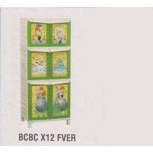 Lemari Plastik Napolly BCBC X12 FVER