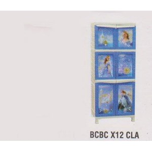 Lemari Plastik Napolly BCBC X12 CLA