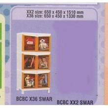 Lemari Plastik Napolly BCBC X36 SWAR