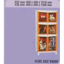 Lemari Plastik Napolly BCBC XX2 SWAR