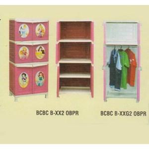 Lemari Plastik Napolly BCBC XX2 OBPR