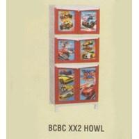 Lemari Plastik Napolly BCBC XX2 HOWL 1