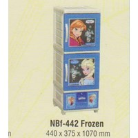 Lemari Plastik Napolly NBF-442 FROZEN 1