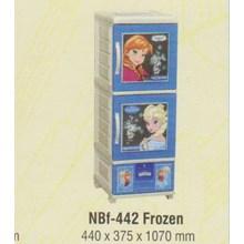 Lemari Plastik Napolly NBF-442 FROZEN