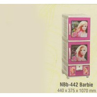 Lemari Plastik Napolly NBb-442 BARBIE 1