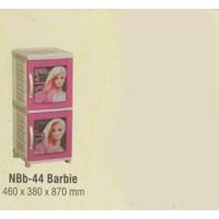 Lemari Plastik Napolly NBb-44 BARBIE 1