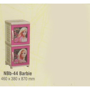 Lemari Plastik Napolly NBb-44 BARBIE