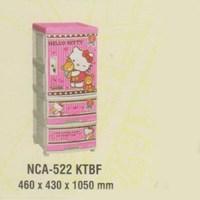 Lemari Plastik Napolly NCA-552 KTBF 1