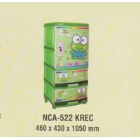 Lemari Plastik Napolly NCA-552 KREC 1