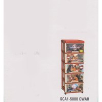 Lemari Plastik Napolly SCA1-5000 CWAR 1