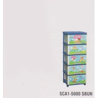 Lemari Plastik Napolly SCA1-5000 SBUN 1