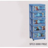 Lemari Plastik Napolly SCA1-5000 FROZ 1