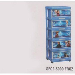 Lemari Plastik Napolly SCA1-5000 FROZ