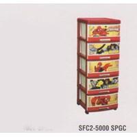 Lemari Plastik Napolly SFC2-5000 SPGC 1