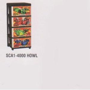 Lemari Plastik Napolly SCA1-4000 HOWL