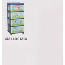 Lemari Plastik Napolly SCA1-4000 SBUN