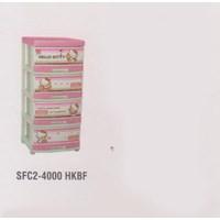 Lemari Plastik Napolly SFC2-4000 HKBF 1