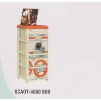 Lemari Plastik Napolly SCAOT-4000 BB8 1