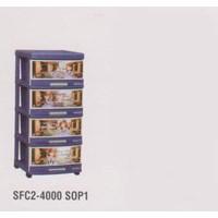 Lemari Plastik Napolly SFC2-4000 S0P1 1